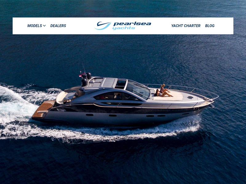 Pearlsea Yachts - Premium Croatian yacht manufacturer and yacht charter company